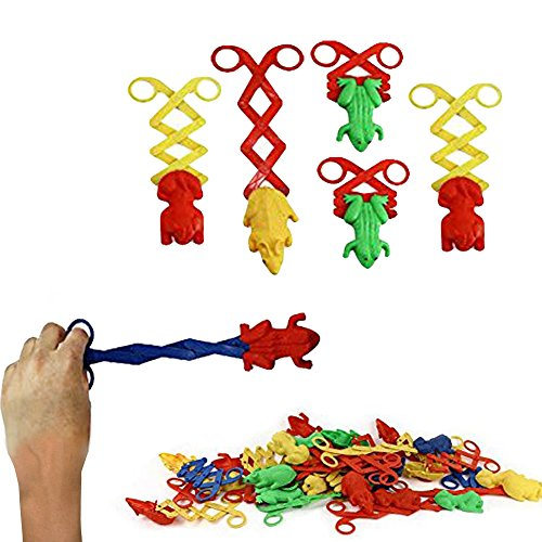 Toy Cubby Kids Party Favor Frog Animal Scissors Gag Toys - 2