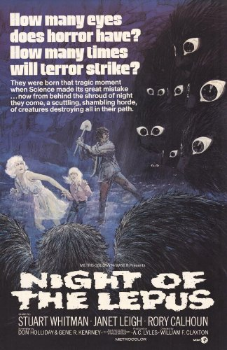Night Of The Lepus 11x17 Inch 28 X 44 Cm Movie Poster Amazonco