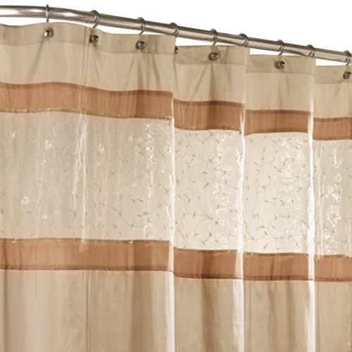 Amazon.com: Maytex Buena Vista Shower Curtain: Home & Kitchen