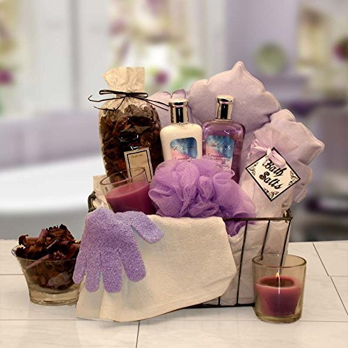 Bath & Body Spa Gift Caddy for Her by Organic ()