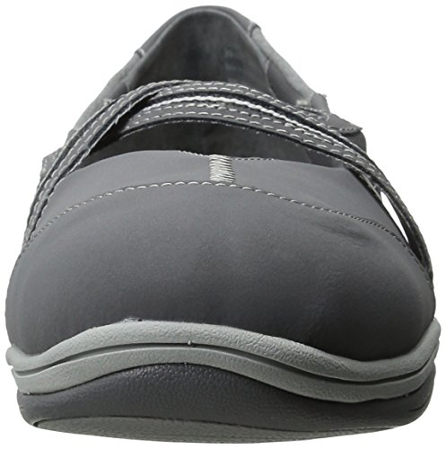 Easy Street de las mujeres EVa moda Zapatillas Grey-Jersey
