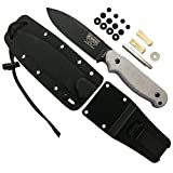 ESEE LS-P-E Laser Strike Black, Micarta Handle, Black Kydex Sheath
