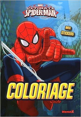 En ligne téléchargement Marvel Ultimate Spider-Man - Coloriage avec stickers pdf epub