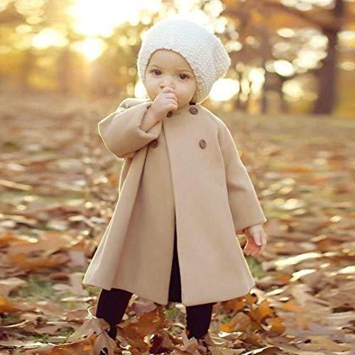 3c470e9fc KaiCran Toddler Baby Girls Cute Fall Winter Button Cardigan Jacket ...