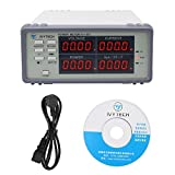 IVYTECH 0.01-900W Wide Frequency High Precision Digital Power Meter 115-230V US/UK/AU/EU (Gray)