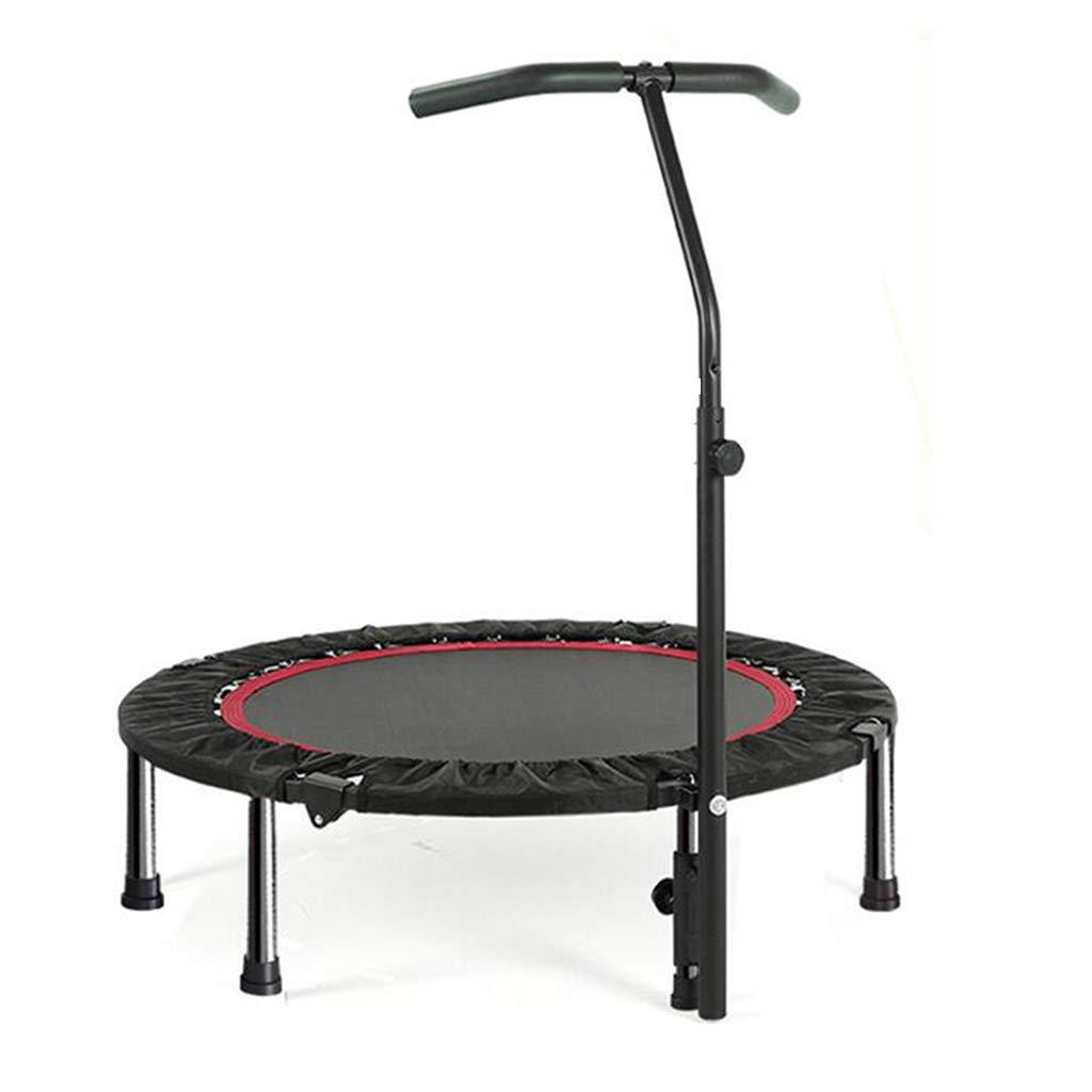 Indoortrampoline Trampolin-Innentrampolin Für Erwachsene Griff-Trampolin Für Professionelle Stretch-Trampolin-Heimtrainer (Farbe : ROT, Größe : 102  102  28cm)
