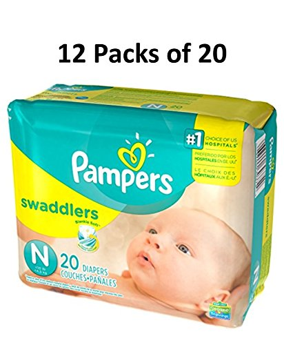 (Pampers Swaddlers (Newborn) 240 count)