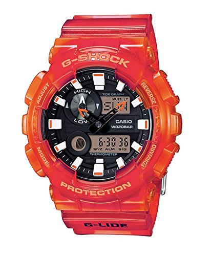G-SHOCK GAX-100MSA-4A Orange Men's Watch for sale  Delivered anywhere in USA