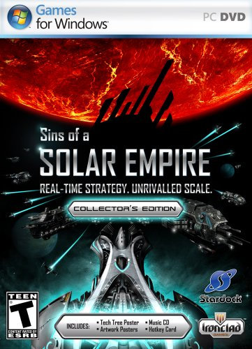 Sins of a Solar Empire Collectors Edition - PC (Sins Of A Solar Empire Rebellion Sale)