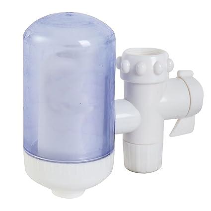 Tropicaleu Filtro de Agua Purificador para Grifo Nuevo Modelo Filtración para Cocina Lavabo de Fregadero de
