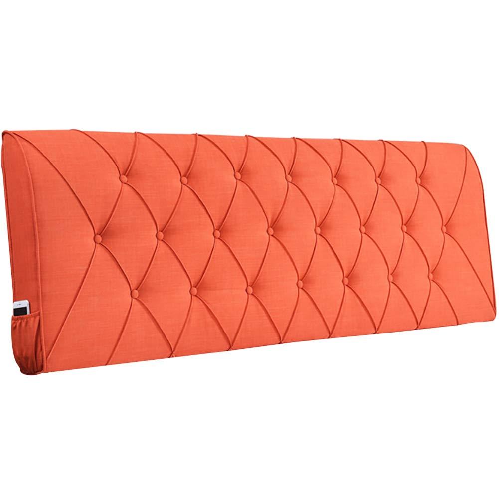 GUOWEI ベッドサイドクッション 布張り 背もたれサポート ベッド用 ヘッドボードなし 8色 8サイズ 150x10x60cm 150x10x60cm F B07MVHXR2W