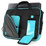 VanGoddy Aqua Blue Laptop Messenger Bag for Razer