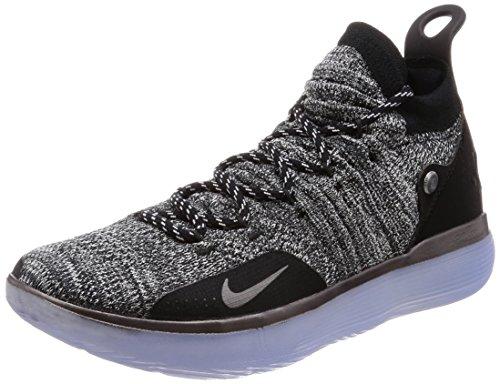 Nike Men's Zoom KD 11 Basketball Shoes (10, Black)