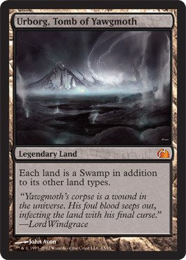 Magic: the Gathering - Urborg, Tomb of Yawgmoth (13) - From the Vault: Realms - Foil