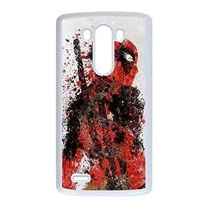 LG G3 Phone Case White Deadpool ES7TY7893159