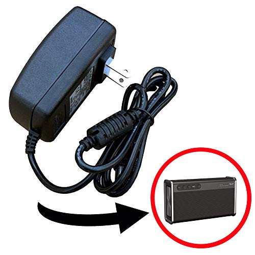 Power Adapter Power Supply Replacement Charger, Compatible with Creative iRoar Go Bluetooth Wireless Speaker