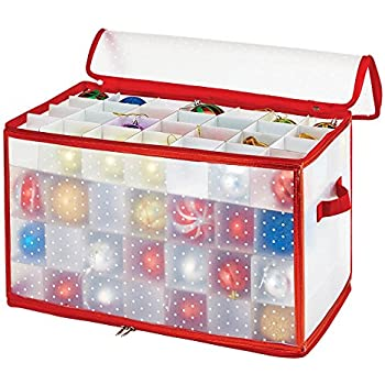 Amazoncom Whitmor Ornament Gift Cube Case Large Home  Kitchen