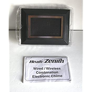 Wired Wireless Designer Door Chime Heath Zenith Dc 3361