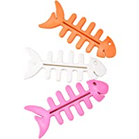 TOPBATHY 10pcs Fish Bone Manual Toothpaste Tube Squeezer