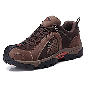 The First Outdoor Hiking Shoes Mens Waterproof Trekking Climbing Sports Breathable Shoe Large Size