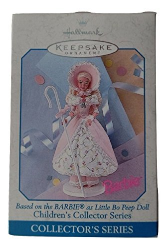 Bo Peep Doll - 1998 Hallmark Keepsake Ornament Barbie as Little Bo Peep