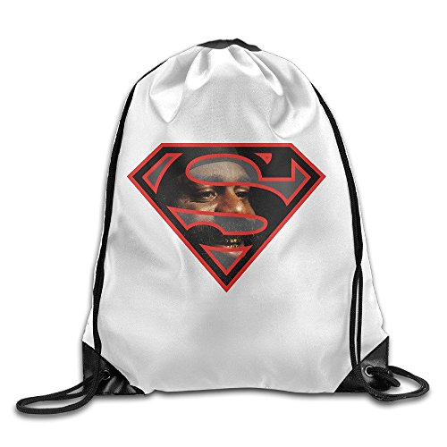 Super Kimbo Slice Drawstring Backpack Bag Gym Sack (Jordan Air Piston)