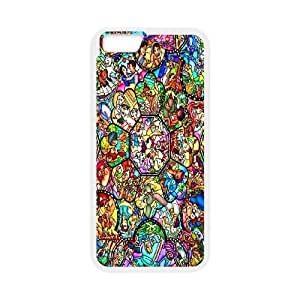 iPhone 6 4.7 Inch Cell Phone Case White Disney Plastic Cheap Phone Case AEG