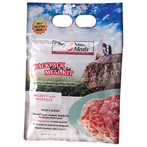 (Chef 5 Minute Meals Spaghetti with Meatballs in Sauce Backpack Meals)