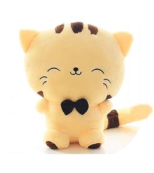 Muñeca de felpa con forma de gato, incluye cola de peluche ...
