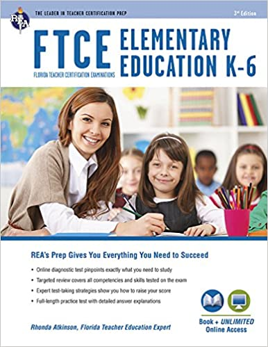 Amazon.com: FTCE Elementary Education K-6 Book + Online (FTCE ...