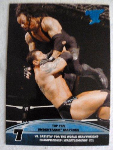 World Wrestling Batista (2013 Topps Best of WWE