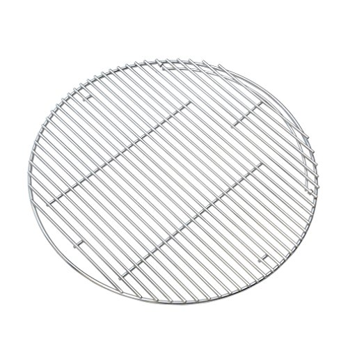 "Onlyfire 24"" Grill Cooking Grate Fits for Weber 18501001 & 18301001 Summit Charcoal Grill and Ceramic Grills Like Kamado Joe Big Joe, X-Large Big Green Egg"