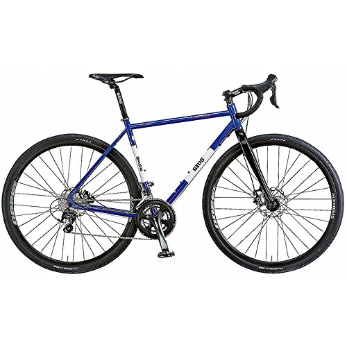 GIOS(ジオス) グラベルロードバイク NATURE GIOS-BLUE 460mm B076BNXXX9
