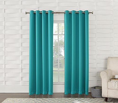 Sun Zero Barrow Energy Efficient Grommet Curtain Panel
