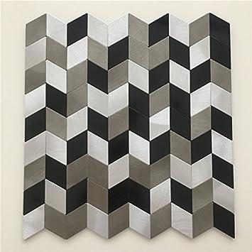 Fantastisch Metall Mosaik Fliesen Aufkleber, Hochwertige Fliesen Für Wand, Küche  Backsplash