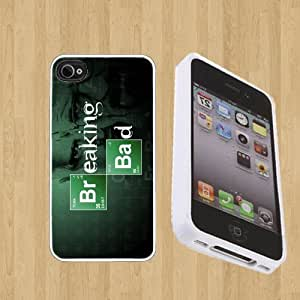 The Breaking Bad Custom Case/Cover FOR Apple iPhone 4 / 4s** WHITE** Rubber Case ( Ship From CA )