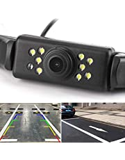 $21 » Car Rear View Backup Camera - 9 LEDs License Plate Rearview Camera,Vehicle Waterproof Reversing Camera,120° View Angle Auto Backing Camera for Trucks/SUV/RV/Pickup/Vans