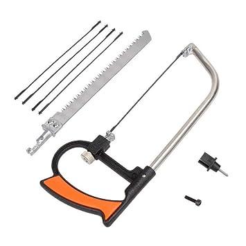 Mental Saw Hacksaw Hand for Wood Woodworking 6 Blades Multi Purpose Tool Kits