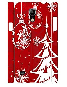 3D Print Custom Hipster Christmas Tree Rugged Phone Dust Proof Case for Samsung Galaxy S4 Mini I9195