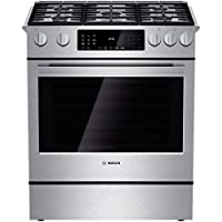 Bosch HDIP054U: 30 Dual Fuel Slide-in Range Benchmark Series - Stainless Steel