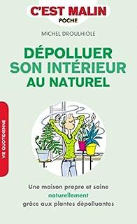 Dépolluer son intérieur au naturel : une maison propre et saine naturellement grâce aux plantes dépolluantes, Droulhiole, Michel