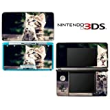 Kitty Praying Decorative Video Game Decal Cover Skin Protector for Nintendo 3Ds (not 3DS XL)