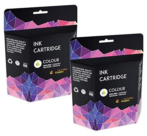 7 opinioni per Cartridges Kingdom CL-41 Kit 2 XL Colore Cartucce d'inchiostro compatibili per