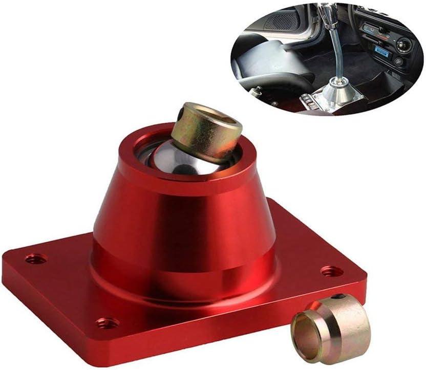 Connecteur de t/ête de levier de vitesse de base de levier de changement de vitesse de voiture pour Peugeot 206306 GTI noir