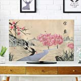Protect Your TV Jingzhe Solar Term Ink Painting Protect Your TV W32 x H51 INCH/TV 55''
