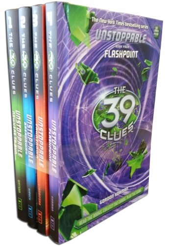 39 Clues Unstoppable Series 2 -  4 Books Set Collection Pack (Nowhere To Run, Breakaway, Countdown, Flash Point ). (The 39 Clues Unstoppable compare prices)