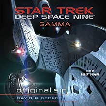 Original Sin: Star Trek: Deep Space Nine Audiobook by David R. George III Narrated by Robert Petkoff
