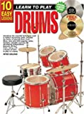 10 Easy Lessons Drums, Peter Gelling, 1864691085