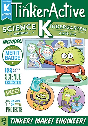TinkerActive Workbooks: Kindergarten Science