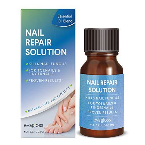 Fungus Stop, Natural Anti-fungal Nail Solution - Kills Fungus on Toenails & Fingernails, Solution...